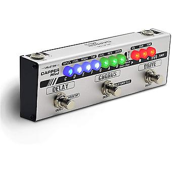 Valeton dapper mini guitar multi effects pedal (mes-1)
