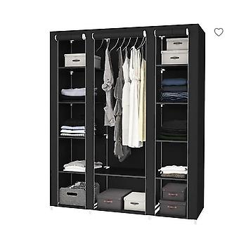 Non Woven Fold Portable Storage, Door Furniture Quarter, Wardrobe Cabinet,