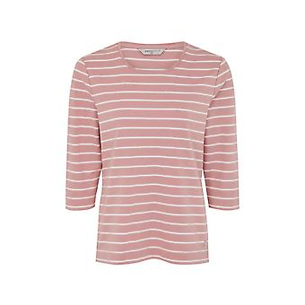 PENNY PLAIN Essential Dusk Pink Striped Top