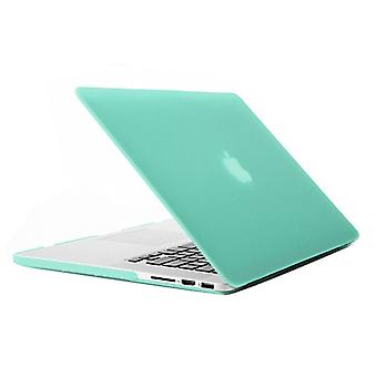 Frosted Hard Protective Case for Macbook Pro Retina 15.4 inch  A1398(Green)