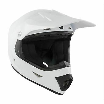 GSB Moto X Kids Full Face Off Road Motocross Helm Wit ACU goedgekeurd