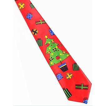 Gravata de Natal impressa, novidade Necktie For Festival