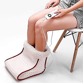 Cosy Heated Electric Warm Foot Warmer, Massager, Washable Heat Settings,