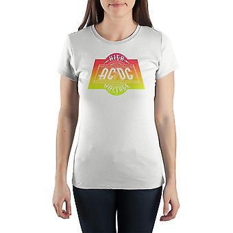 Acdc high voltage tee rock tshirt