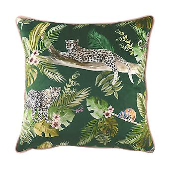 Evans Lichfield Jungle Leopard Cushion Cover