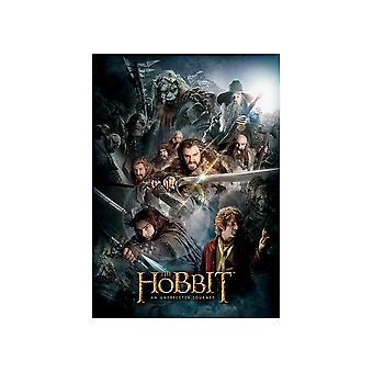 The Hobbit Dark Montage Postcard