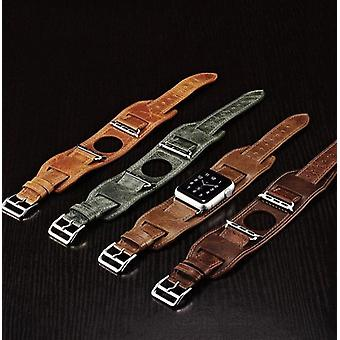 3 In 1 Genuine Leather  Bands For Apple Watch