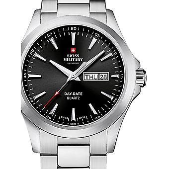 Reloj masculino militar suizo por Chrono SMP36040.22, cuarzo, 42 mm, 5ATM