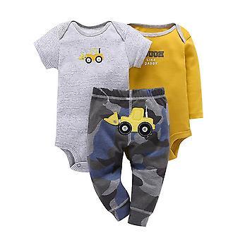 3Db Baba felszerelés, bodysuit, felső és nadrág -tipper
