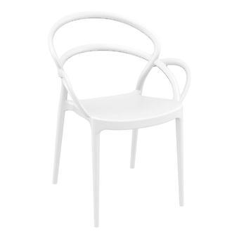Milner Armchair - White