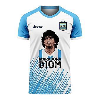 Diego Maradona D10M Concept Shirt (Blanc)