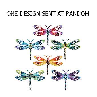 Joe Davies Metallinen pieni sudenkorennon plakki - Satunnainen muotoilu