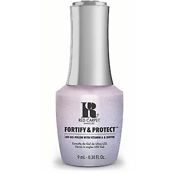 Red Carpet Manicure Fortify & Protect Gel Polish - My Diamonds Sparkle