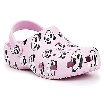 Crocs Classic Panda Print Clog JR 2069996GD universal all year kids shoes