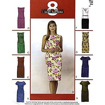 McCalls نمط الخياطة 3548 يفتقد الأميرة التماس أعلى حجم تنورة 8-10-12-14