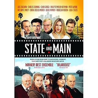 State & Main [DVD] Usa:n tuonti