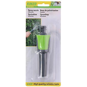 spray nozzle adjustable 13.2 cm ABS green