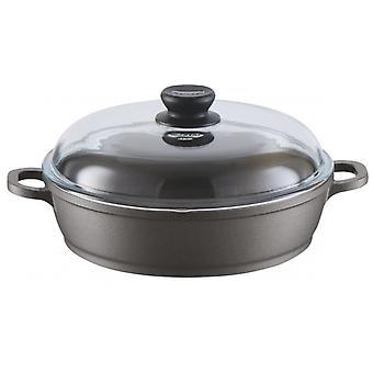 kasserolle Bonanza Induktion 28 cm Aluminium schwarz