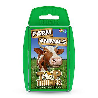 Farm Animals RB Top Trumps Card Game