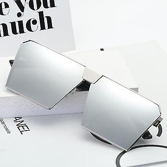 Vierkante gepolariseerde zonnebril voor mannen en vrouwen polygoon gespiegelde lens y1970