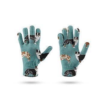 Перчатки для сенсорного экрана весна женщин