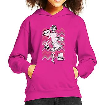 Sindy Shes Wonderful Shes Fashionable Shes Fun Kid's Hooded Sweatshirt
