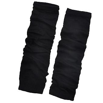 Mujeres guantes sin dedos de manga larga, guantes de brazo de muñeca sexy