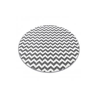 Sketch-ympyrä - F561 harmaa/valkoinen - Siksak