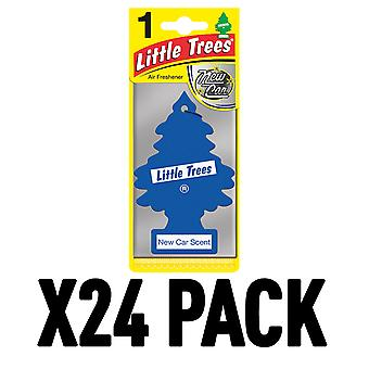 New Car Scent (Pack Of 24) Little Trees Air Freshener
