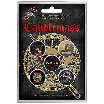 Candlemass - The Door to Doom Button Badge Pack