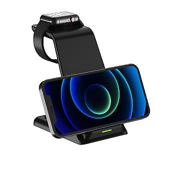 3 In 1 Wireless Charger For Smart Phone/iphone/apple Watch/airpods