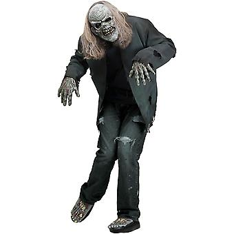 Rotted Zombie Halloween Men Costume Instant Kit