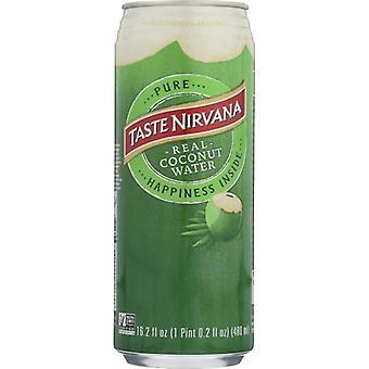 Smag Nirvana Coconut Wtr Can, tilfælde af 12 X 16,2 Oz