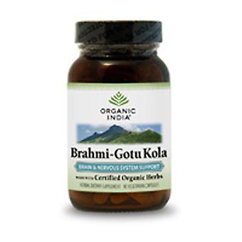 Organic India Brahmi Gotu Kola, 90 Vcaps