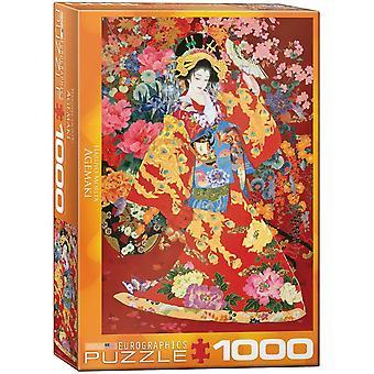 Eurographics Agemaki, Puzzle Haruyo Morita (1000 Pièces)