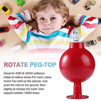 Fast Anti Stress Finger Toy Finger Spinner Rotate Peg-top Toys Hand Spinner