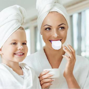 Automatisk Sonic Electric Tandbørste USB genopladelige 360 graders silikone tænder tandbørster