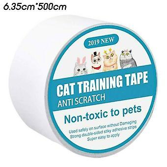 (5m) Pet Cat Couch Sofa Scratch Guard Anti-Scratch Tape Møbler Protector Sticker