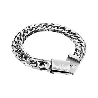 Police jewels men's bracelet large pj25507bss01-l