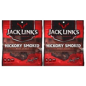 Jack Link's Hickory Smoked Beef Jerky 2 Bag Pack