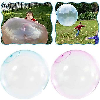 70Cm children outdoor soft air water filled bubble ball blow up balloon toy fun party game gift for kids inflatable toys