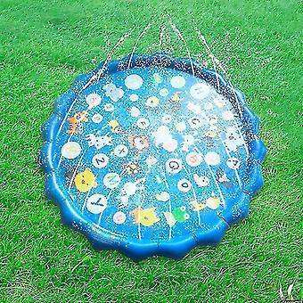 الأطفال الصيف في الهواء الطلق المياه لعب لوحة حصيرة الحديقة نفخ لعبة وسادة الرش