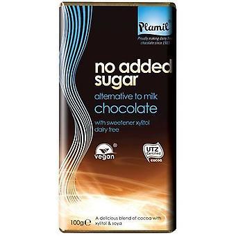 So Free Organic 2843 No Added Sugar Alternative  to Milk Chocolate Expressions 100g x12