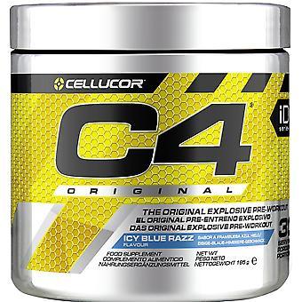 C4 Original, Icy Blue Razz - 195 grams
