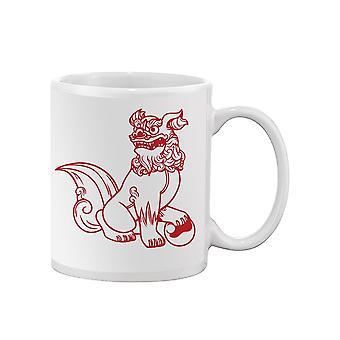 Guardian Foo Dog Mug -SPIdeals Designs