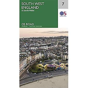 Zuidwest-Engeland (OS Road Map)