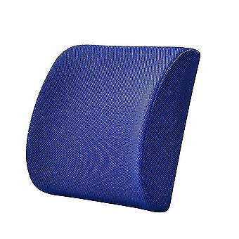 Back lumbar support cushions homemiyn lumbar support pillow for office desk chair car seat-memory foam back cushion with