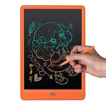 Schermo arcobaleno da 10 pollici che evidenzia la scrittura a mano spessa Lavagna per la scrittura a mano LCD per bambini Graffiti Smart Drawing Board Energia leggera Piccola lavagna