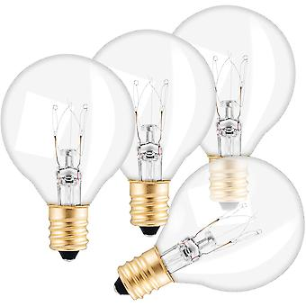G40 Replacement Light Led Bulb E12 Base 7w 4 Per Pack