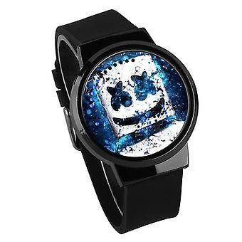 Waterproof Luminous Led Digital Touch Watch - Dj Marshmello